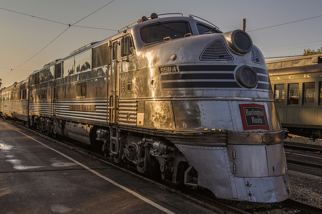 Nebraska Zephyr, train of the goddesses